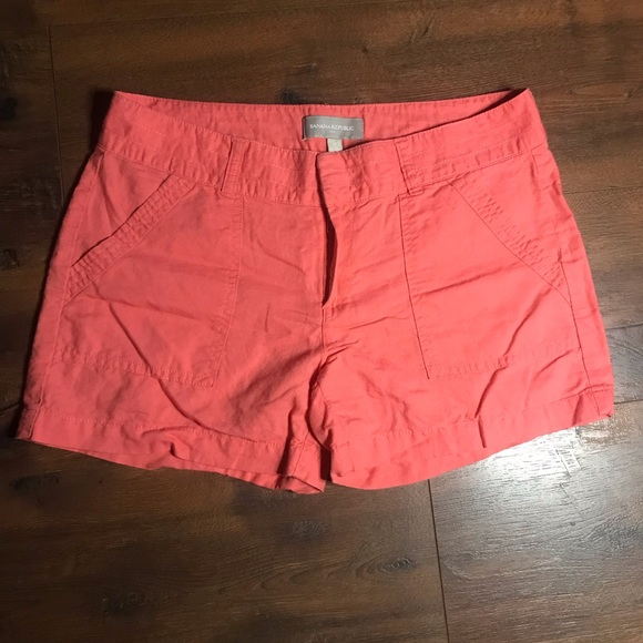 Banana Republic Pants - Banana Republic Peachy Pink Shorts